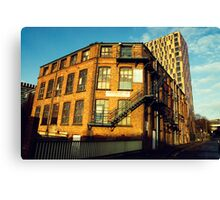 Who Says It's Grim Up North Canvas Print