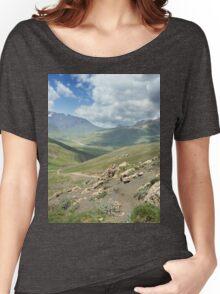 a large Uzbekistan landscape Women's Relaxed Fit T-Shirt