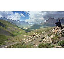 a large Uzbekistan landscape Photographic Print