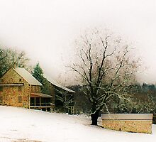 1700's Farmhouse by Polly Peacock