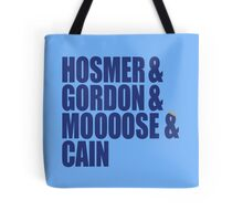Hosmer, Gordon, Moose & Cain Tote Bag