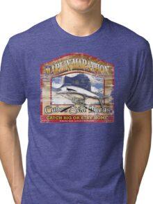 marlin marathon Tri-blend T-Shirt