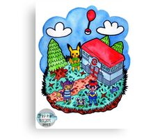 I choose you to be my Villager! Canvas Print