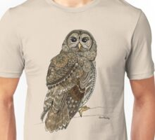 Barred Owl Tangle Unisex T-Shirt
