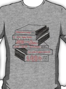 Haruki Murakami Book Stack T-Shirt
