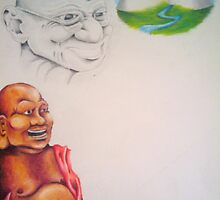 Ghandi by Courtney Hill