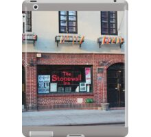 Stonewall Inn. Greenwich Village. iPad Case/Skin