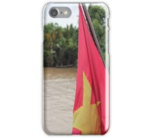 Vietnam Flag: Mekong River, South-East Asia iPhone Case/Skin