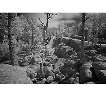 Alberta Falls in Infra Red Photographic Print
