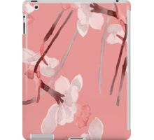 Watercolor narcissus flower  iPad Case/Skin