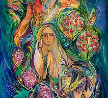 Based on original Judaica paintings of Elena Kotliarker by Elena Kotliarker