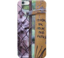 I Remember You From The Future: Weeping Angels iPhone Case/Skin