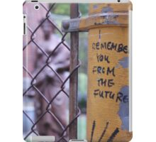 I Remember You From The Future: Weeping Angels iPad Case/Skin