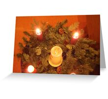 Advent Candles  Greeting Card