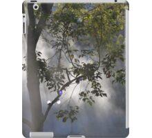 Light streaming through tree iPad Case/Skin