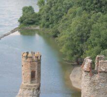 Maiden Tower, Devin Castle: Fairytale of Slovakia Sticker