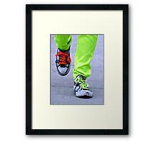 Spark of Neon Framed Print
