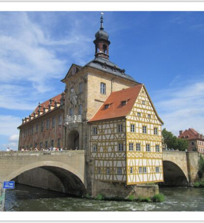 Town Hall, Bamberg - UNESCO World Heritage city Sticker