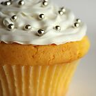 White cupcake by Framed-Photos