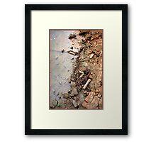 Rusty Chain - Ross Creek - Townsville FNQ Framed Print