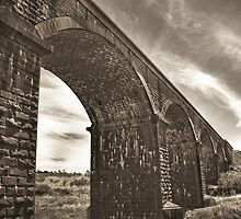 Coliban Rail Bridge, Malmsbury by randmphotos