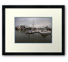 Ross Creek - Townsville Framed Print