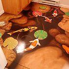 Koi Pond Floor by Christopher  Salmon