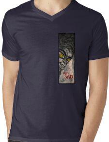 Happy Sad Guy Tall Mens V-Neck T-Shirt
