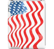 Fun Patriotic  USA Flag Design iPad Case/Skin