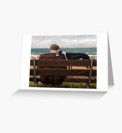 A quiet moment Greeting Card
