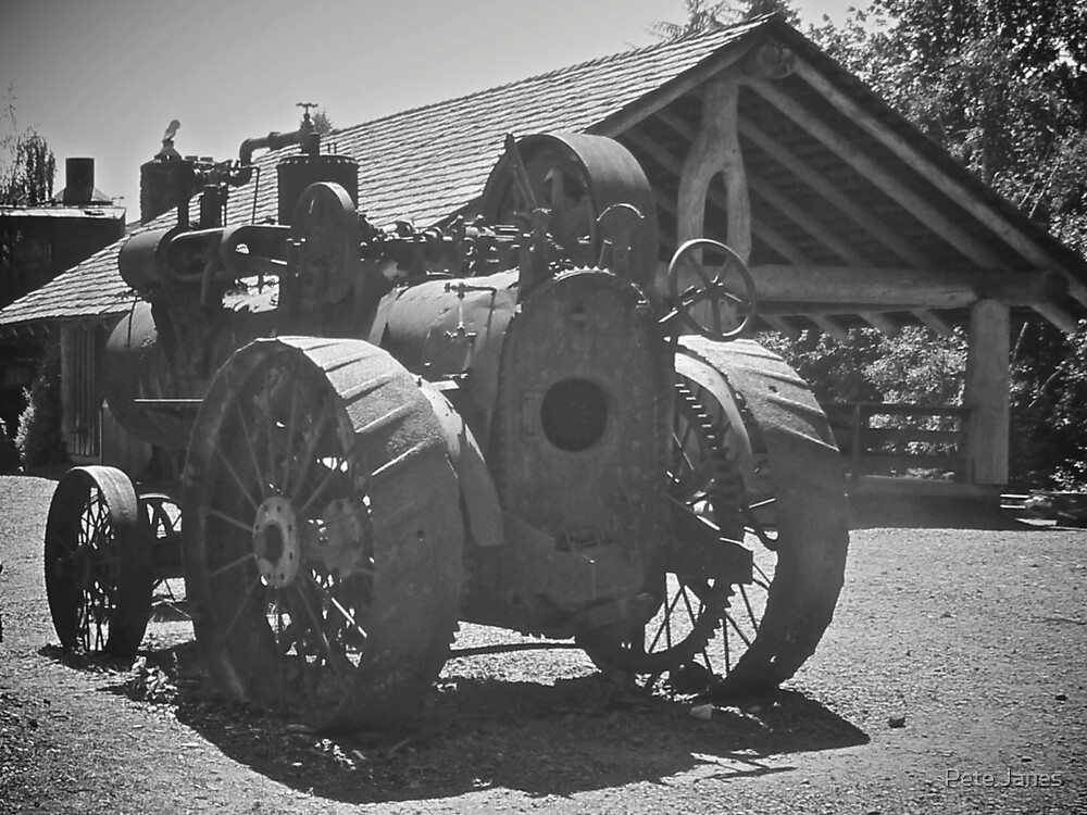 Workhorse, Camp 18, Oregon by Pete Janes