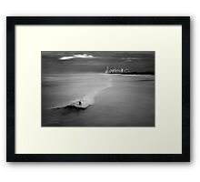 Long Ride Framed Print