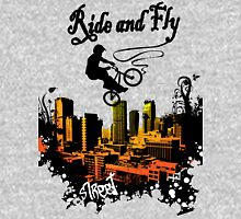 ride and fly design t-shirt Unisex T-Shirt