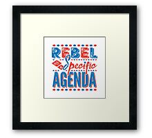 Rebel Framed Print