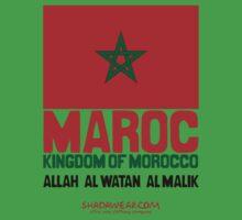 Maroc represent Kids Clothes