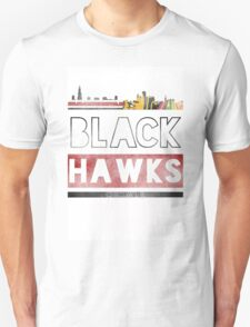 Chicago Blackhawks Skyline Unisex T-Shirt