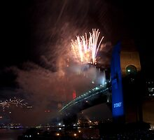 New Year's Eve Fireworks by Calelli