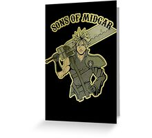 Sons of Midgar Greeting Card