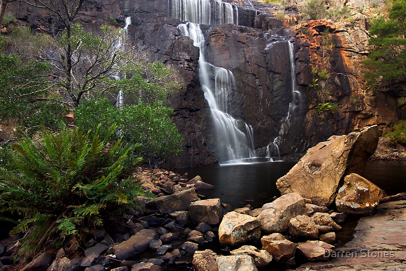 MacKenzie Falls at the Grampians National Park by Darren Stones
