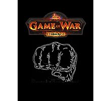 GAME OF WAR: FIRE AGE - REV REVOLUTION BABY! Photographic Print