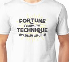 Fortune Favors the Technique Unisex T-Shirt