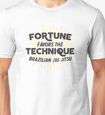 Fortune Favors the Technique Unisex T-Shirt