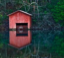 DeSoto Lake  by Phillip M. Burrow