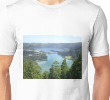 Lake of Seven Cities Azores Unisex T-Shirt