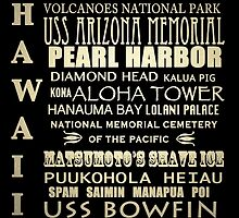 Hawaii Famous Landmarks by Patricia Lintner