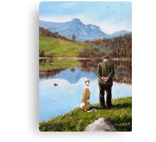 Look while life lasts... Canvas Print