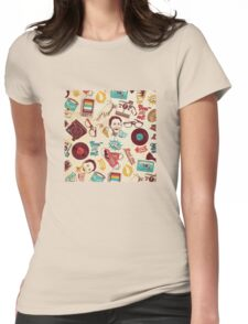 Vintage World Womens Fitted T-Shirt