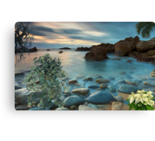 1502-XL-Blue Mist Sunset Canvas Print