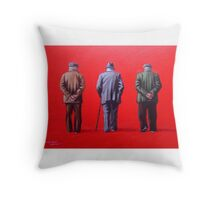 Remember when we used to paint this town red? Throw Pillow