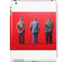 Remember when we used to paint this town red? iPad Case/Skin